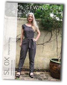 Sewing Life Magazine is a bi-monthly membership that will teach you new skills and help you improve your sewing. The Sewing Life Magazine includ. Jumpsuit Dress, Life Magazine, Sewing Patterns, Dresses, Fashion, Overall Dress, Stitching Patterns, Vestidos, Moda
