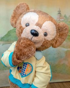 Duffy The Disney Bear, Disney Stuff, Mickey Mouse, Teddy Bear, Cute, Animals, Noel, Animales, Animaux