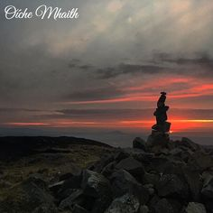 Good Night From Ireland  This lovely view of sunset in Donegal comes from @flower_power