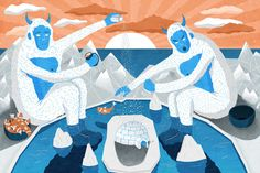 Illustrational Storytelling from Patrick O'Leary | Ape on the Moon: Contemporary Visual Culture