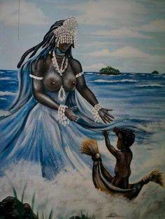 Yemaya   ... Black History During America's Black History Month