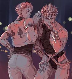 Anime Boys, Manga Anime, Jojo Anime, Anime Art, Hisoka, Jojo's Bizarre Adventure Anime, Jojo Bizzare Adventure, Character Art, Character Design