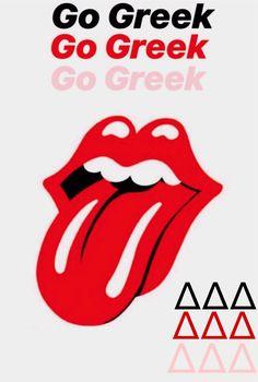 Go Greek, Greek Life, Tri Delta, Sorority, Social Media, Story Ideas, Insta Story, College, Bullet Journal