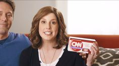 """SNL mocks CNN's over-coverage of missing Malaysian flight 370 by introducing the new """"CNN Take Home Pregnancy Test"""" in a commercial spoof. Truthrevolt.org goes on to explain how this test is perceived as always """"in progress"""" and only """"15% accurate."""" By presenting CNN as a unreliable source of information the writers of SNL are presenting the idea to Americans that our source of news is in fact not that accurate/ does not do their job efficiently."""