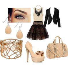 for the office, created by biancareneelopez.polyvore.com