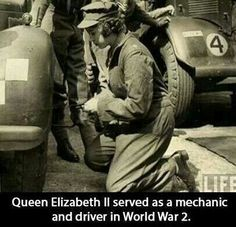 After months of begging her father to let his heir pitch in, Elizabeth—then an 18-year-old princess—joined the Women's Auxiliary Territorial Service during World War II. Known as Second Subaltern Elizabeth Windsor, she donned a pair of coveralls and trained in London as a mechanic and military truck driver. The queen remains the only female member of the royal family to have entered the armed forces and is the only living head of state who served in World War II.