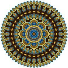 "Digital Arts ""Dynamic Mandala"" SKU-DA00021"