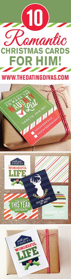 Awesome Romantic Christmas Card Ideas for Your Spouse! LOVE these!!