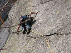 Climbing Val di Mello, Italy