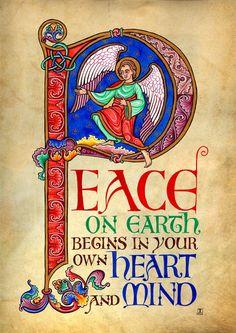 Peace Illumination от TaniaCrossingham на Etsy