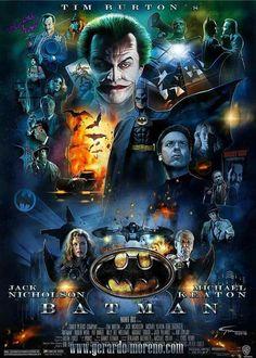 25th Anniversary Poster Batman