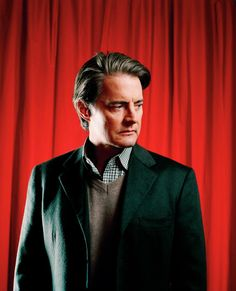 Dale Cooper in the black lodge 25 years later. #25yearslater
