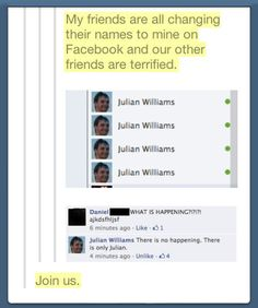 """I would laugh so hard if someone did this but put """"Harold Saxon"""" or """"the master"""" with his photo"""