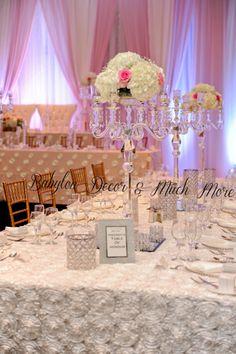 #wedding #decor #backdrop #centerpieces #tablelinen #chiavairchairs #weddingdecor #flowers