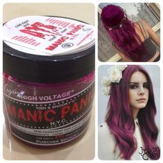 manic panic fuschia shock - Google Search