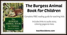 Burgess Animal Book Reading Guide