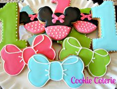 Mouse Decorated Sugar Cookies Birthday Cookie Favors One Dozen on Etsy, $28.00
