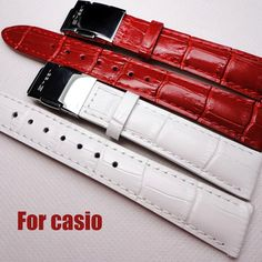 Fast delivery <font><b>Women</b></font> Leather <font><b>Watch</b></font> Bands For <font><b>Casio</b></font> Strap 14mm / 16mm / 18mm <font><b>Watch</b></font> Straps Pin Buckle Red / White <font><b>Watch</b></font> Band Price: INR 999.765  | http://www.cbuystore.com/product/fast-delivery-font-b-women-b-font-leather-font-b-watch-b-font-bands-for-font-b-casio-b-font-strap-14mm-16mm-18mm-font-b-watch-b-font-straps-pin-buckle-red-white-font-b-watch-b-font-band/10165065 | India