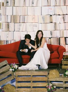 Check out this geek chic wedding.