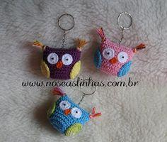 key chain crochet
