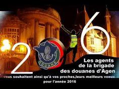 Les agents de la brigade des douanes d'Agen, vous souhaitent ainsi qu'à vos proches , leurs meilleurs vœux pour l'année 2016
