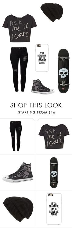 """Untitled #86"" by darksoul7 on Polyvore featuring Gestuz, River Island, Converse, Phase 3 and Casetify"