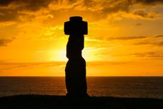 Ahu Tahal Moai Sunset by Loïc Lagarde on 500px