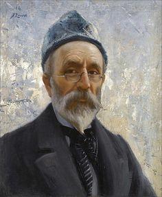 Fausto Zonaro · Autoritratto · 1914 · Collezione privata