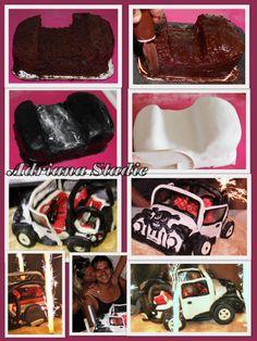 Tutorial Jeep Cake