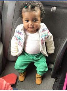 Aww lil self Cute Black Babies, Beautiful Black Babies, Beautiful Children, Little Babies, Adorable Babies, Lil Baby, Baby Kind, Pretty Baby, Baby Pictures