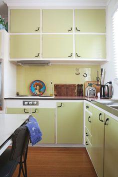 Décor do dia: cozinha verde e divertida