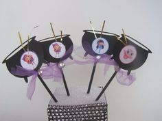 8 Little Charmers Cauldron Girl's Party Cupcake Cake Toppers Gift Favors #BirthdayChild