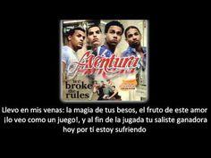 Aventura - Enséñame a Olvidar (lyric - letra) - YouTube