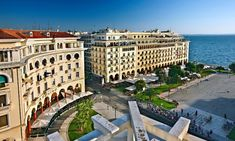 Aristotelous Square Aristotelous Square is the main city square of Thessaloniki, Greece and is located on Nikis avenue, in the city center. It was designed by French architect Ernest Hébrard in 1918, but most of the square was built in the 1950s