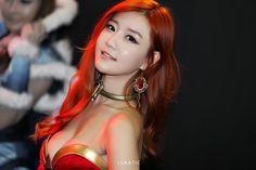 Dota 2 Cosplay Korean Lina