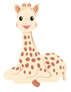 Sophie the Giraffe - svg, pdf, png, dxf files Baby Shower Giraffe, Giraffe Party, Shark Party, Giraffe Birthday, Custom Quilts, Disney Junior, Silhouette Machine, Baby Quilts, One Pic