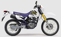 Suzuki DR 125 SE 1998  #motorcycles