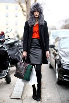 Paris Fashion Week Fall 2013 Models Pictures - StyleBistro