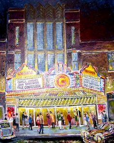 GRANADA THEATRE Address: 104 N. Ninth St, Mt. Vernon, IL Year Built: 1937