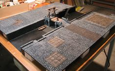 nice mordheim table, wish I'd made something like this for our group
