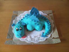 dort - dráček / cake - dragon
