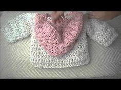 Crochet baby Hoodie, sweater