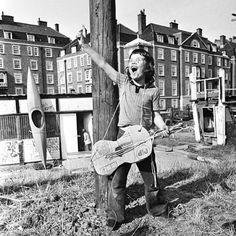 """Dude '72"" photo by Mick Rock (Camden Town, Summer 1972)"