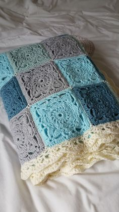 Crochet Willow Square Blanket