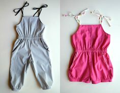 Elegance  Elephants: Pleated Playsuit Pattern