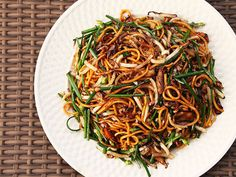 Extra Veggies = Extra Flavor: Stir-Fried Lo Mein With Charred Cabbage, Shiitake, and Chives | Serious Eats