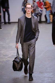 #Menswear #Trends Oliver Spencer Fall Winter 2015 Otoño Invierno #Tendencias #Moda Hombre     F.Y.