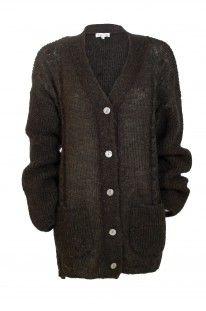mohair knit, black, knit sweater, fall fashion, knit, fall 2013, kristine vikse, cardigan