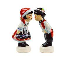 Czech Kiss Ceramic S&P Set