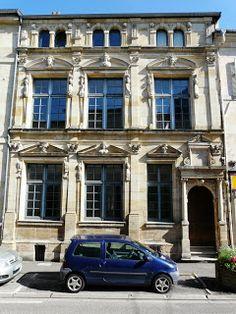 Maison dite des Deux Barbeaux à Bar-le-Duc (Meuse)